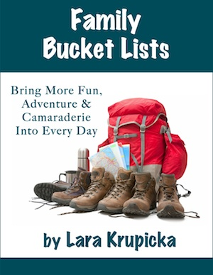 Family Bucket Lists e-book