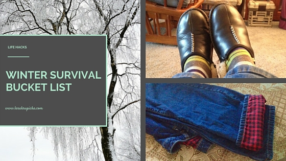 Winter Survival Bucket List