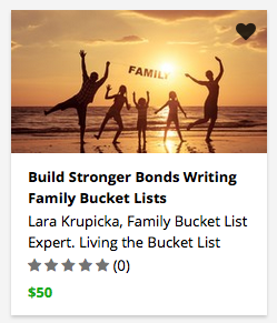 Build Stronger Bonds Writing Family Bucket Lists